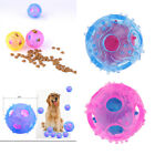 Interactive Toys Durable TPR Chew Ball Treat Dispenser Dog Puppy Fun Play Toy