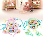 Drum Toy Kit 6x Kids Baby Boy Girl Musical Instruments Band Children Gifts A6