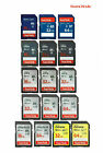 SanDisk SD Card 16GB 32GB 64GB Ultra / Extreme SDHC Memory Card