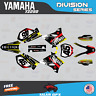 Yamaha YZ250 YZ125 Graphics Decal Kit  2002 to 2014 YZ 250  DIVISION-Red Yellow