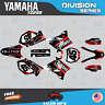 Yamaha YZ250 YZ125 Graphics Decal Kit  2002 to 2014 YZ 250  DIVISION - Red