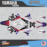 Yamaha YZ250 YZ125 Graphics Decal Kit 2002 to 2014 YZ 250 DREAM Series-DrkBluRd