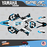 Yamaha YZ250 YZ125 Graphics Decal Kit  2002 to 2014 YZ 250 SPEAR Series - Cyan