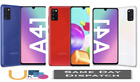 Samsung Galaxy A41/64gb 2020 4g Lte Android Smart Phone Black Blu Red White Cell
