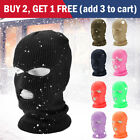 3 Hole Full Face Ski Mask Winter Cap Balaclava Hood Beanie Warm Tactical Hat US