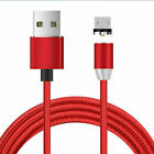360° Micro USB Cable Magnetic LED Charging For Samsung S7 S6 S4 S3 Fast Charger