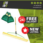 48 TOOTH POLYPROPYLENE LANDSCAPE RAKE - With Leaf Scoop Grab Hands