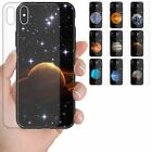For Huawei Series - Planet Galaxy Tempered Glass Back Case Mobile Phone Cover