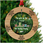 PERSONALISED Year of the Lockdown 2020 Family Christmas Decorations Bauble Gift
