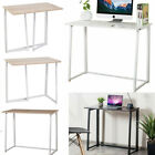 UK Compact Folding Desk Computer Desk Foldable Study Table No Assembly Required!