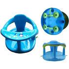 Baby Bath Seat Support Safety Infant Chair Bathing Newborn Tub Ring Play Seat