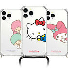 Hello Kitty Friends Peeking Phone Strap Case iPhone 12 Pro Pro Max 12 mini Case