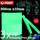 300cmx10mm Luminous Tape Self-adhesive Safety Home Decor Glow In The Dark Sign