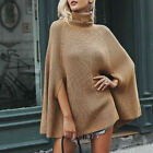 Women's Casual Long Sleeve Pullover Loose Knitted Sweater Jumper Tops Knitwear