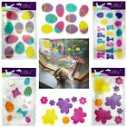 Easter Gel Window Stickers Easter Home,school,churches Decoration Gel Decals