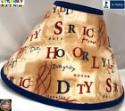 AMERICAN PATRIOTIC SERVICE HONOR DUTY LAMP SHADE (Clip-On) -  $65.95 - LAST ONE!