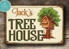 Tree House Sign - Personalized Treehouse Sign Durable high quality indoor or ...