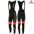 DEKO Mens Cycling Bib Tights Roubaix Winter Cold Wear Thermal Padded Tight