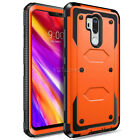 For LG G7 ThinQ/G7 One/G7 Fit/LM-G710 Case Protective Hybrid Rugged Hard Cover