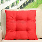 "16""x16"" Chair Cushion Pad Car Home Office Dining Garden Patio Seat Mat 13 Colors"