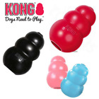 KONG Dog Toy Puppy Classic Chew or Extreme treat Snack Holder Rubber / Colours
