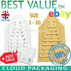 GOLD WHITE AROFOL GENUINE BUBBLE JIFFY PADDED ENVELOPES MAILERS BAGS ALL SIZES
