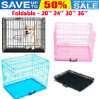 Dog Cage Puppy Crates Pet Carrier Training Cages Small Medium Large Extra Large