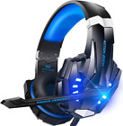 Stereo Gaming Headset for PS4, PC, Xbox One Controller, Noise Canceling w/ Mic