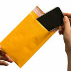 Padded Bubble Postal Bags Envelopes Mail Bags Yellow Brown 90x145mm