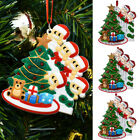 Christmas Family SantaTree Ornament  XmasParty Hanging Living  Home Decorations
