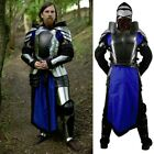 Black Ice Warrior Armour Set Perfect for Stage, Costume, Re-enactment Or LARP