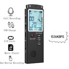 32G 8G Rechargeable Digital Voice Recorder Dictaphone Audio Sound Recorder MP3