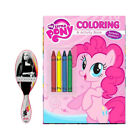 My Little Pony Coloring Activity Book with Wet Brush Barbie Hair Brush Gift Set