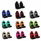 Car Seat Covers Full Set for Auto w/Steering Wheel/Belt Pad/4Head Rest