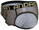 Andrew Christian Almost Naked Sheer Leopard Brief mens underwear bikini mesh