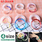 Silicone Mold Casting Mould Diy Bangle Jewelry Tool Kit Resin Bracelet Making
