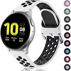 For Samsung Galaxy Watch Active2 44mm Silicone Sports Band Strap Breathable