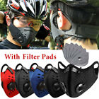 Sports Face Shield With Dual Exhuast Activated Carbon Breath Valves Sports Mask