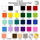 Adhesive Vinyl Rolls For Cricut | Permanent Vinyl | By Craftables