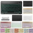 """9.7-10.1"""" Tablet PC Universal Portable Mini Color Backlit Wireless 3.0 Keyboard"""