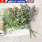 Artificial Eucalyptus Fake Money Leaves Green Plant Leafs Flowers Home Decor