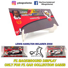 F1 Car Collection INLAY DISPLAY Showcase LEWIS HAMILTON PACK / 1:43