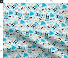 Traditional German Beer Holiday Illustration Spoonflower Fabric by the Yard