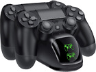 PS4 Controller Charger, Controller USB Charging Station Dock for DualShock