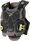 Alpinestars A-4 Max Chest Protector BLACK YELLOW