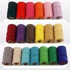 Handmade Christmas Twine String Cotton Cords DIY Rope Packing Craft Projects