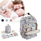 Baby Diaper Bag Waterproof Mummy Changing Maternity Nappy Travel Backpack NEW