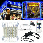 Super bright IP65 5054SMD 6LED Blue LED Module Light Lamp For STORE FRONT Window