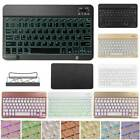 """10"""" Universal Mini Color Backlight Wireless Keyboard For iPad 2 3 4 Air Air 2"""