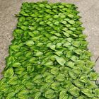 Artificial Hedge Ivy Leaf Garden Fence Roll Privacy Screen Wall Cover Decor